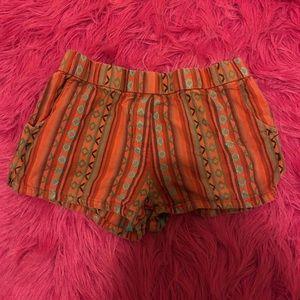Urban Outfitters Bohemian Shorts